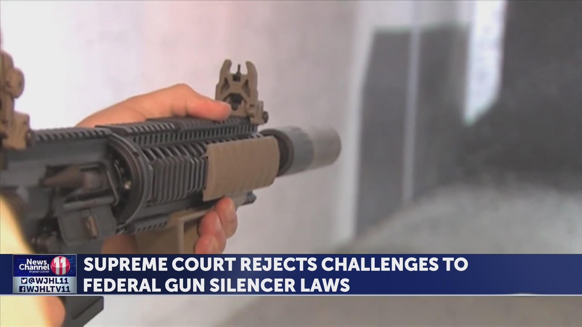 Supreme Court refuses to change gun silencer laws
