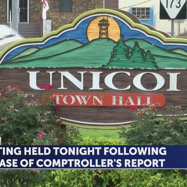 Town of Unicoi Leaders address Comptroller's Report