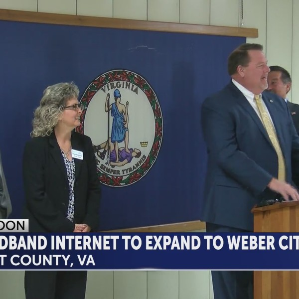 Weber City announces plans to bring broadband internet to community