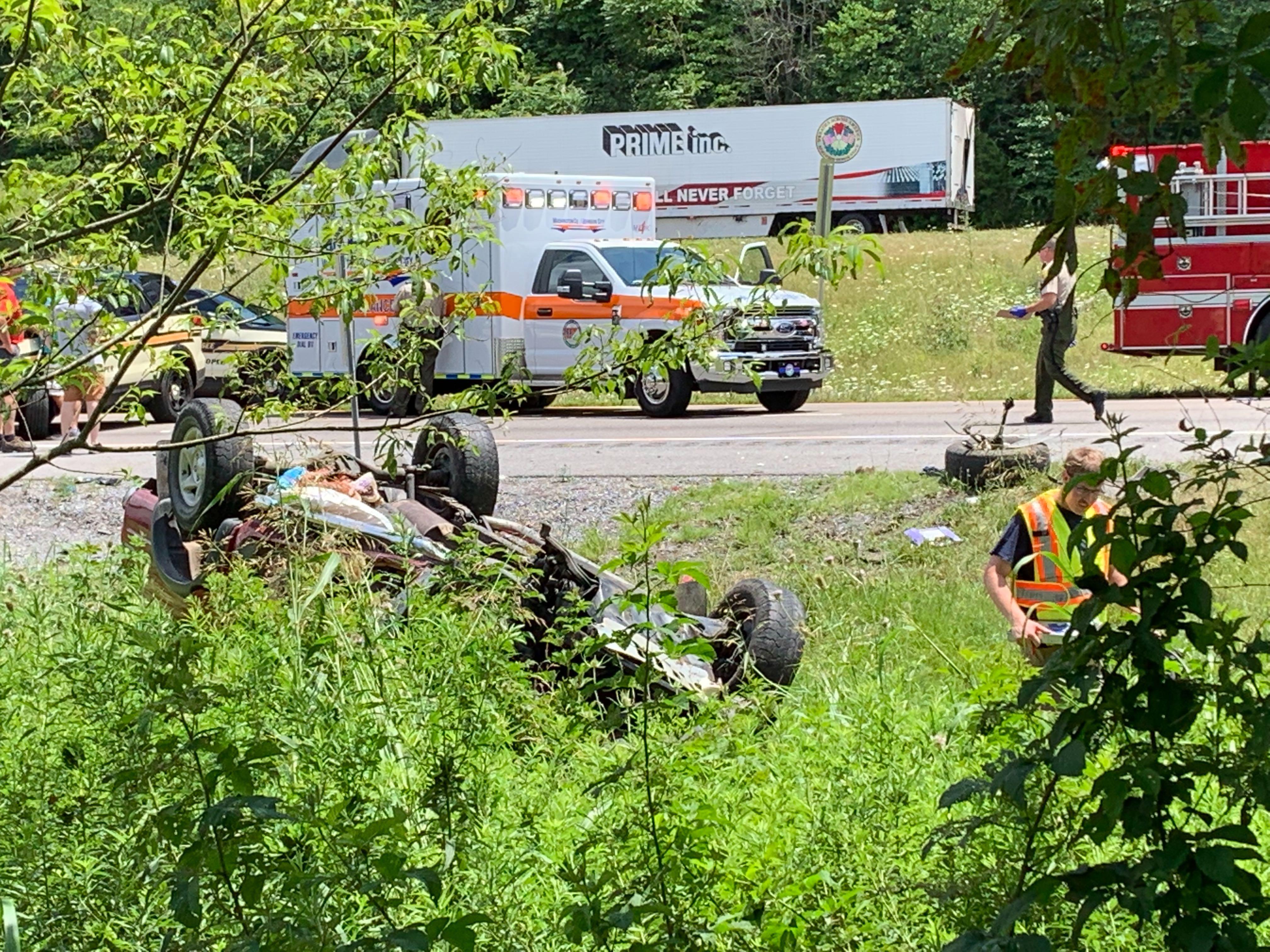Fall Branch VFD: One confirmed death in I-81 crash | WJHL | Tri