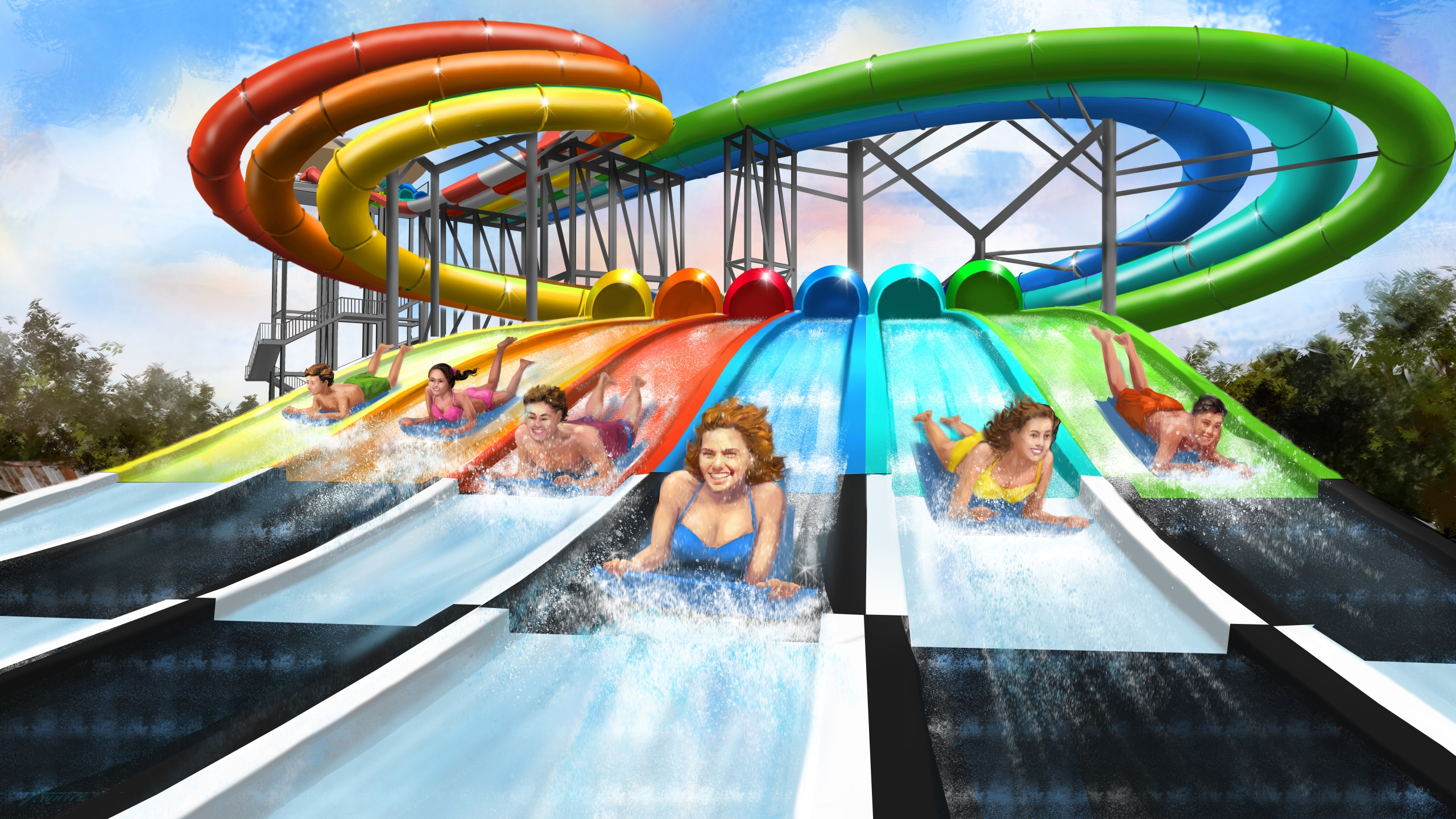 Carowinds announces new water slide and festival for 2020
