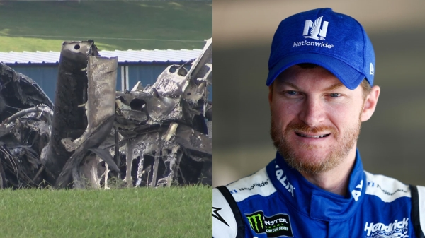 Bill Cunningham - Dale Earnhardt Jr.'s Plane Bursts Into Flames in Terrifying Runway Accident