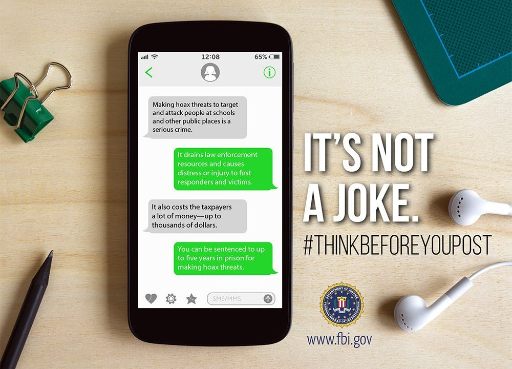 TBI, FBI team up for new safety campaign to target fake threats made