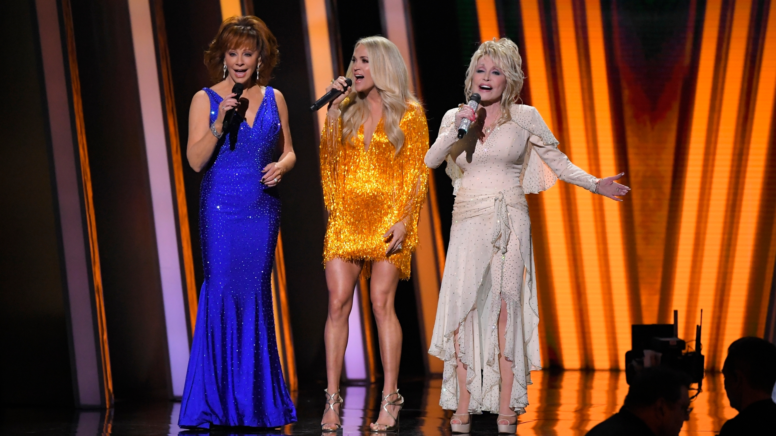 Reba McEntire, Carrie Underwood, Dolly Parton