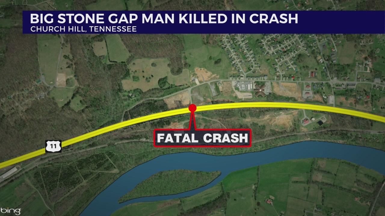 Thp Big Stone Gap Man Killed In Church Hill Crash Wjhl