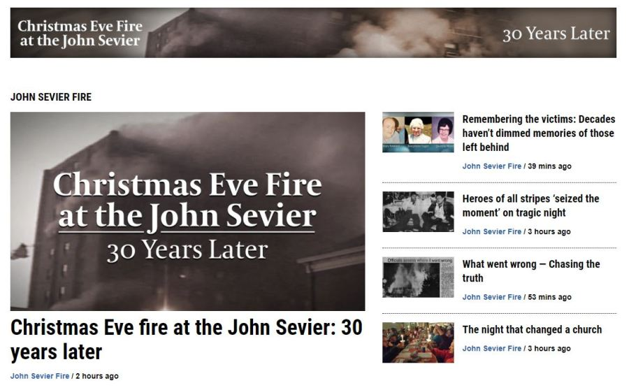 Christmas Eve fire at the John Sevier: 30 years later | WJHL | Tri