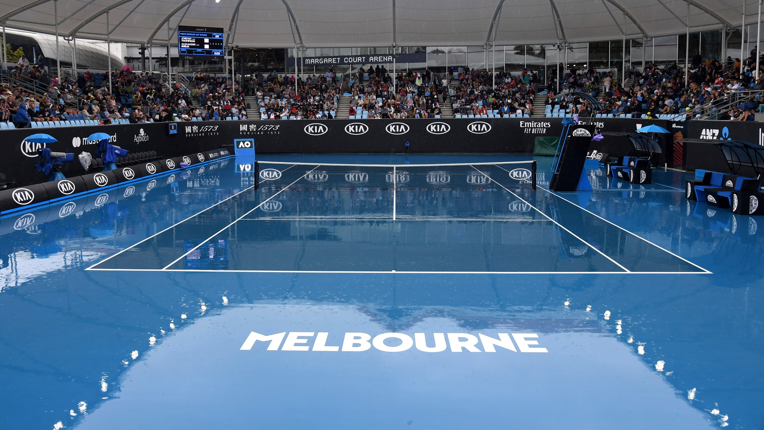 Air Quality Seems Totally Fine On Day 1 At Australian Open