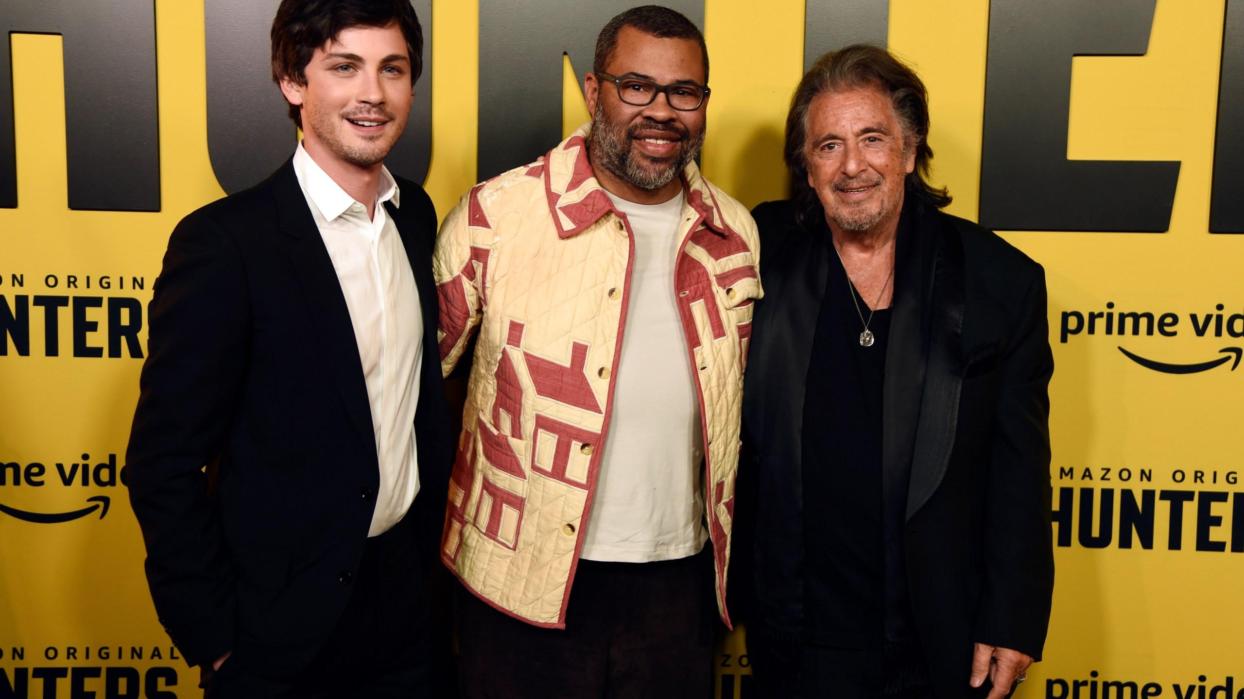Logan Lerman, Jordan Peele, Al Pacino