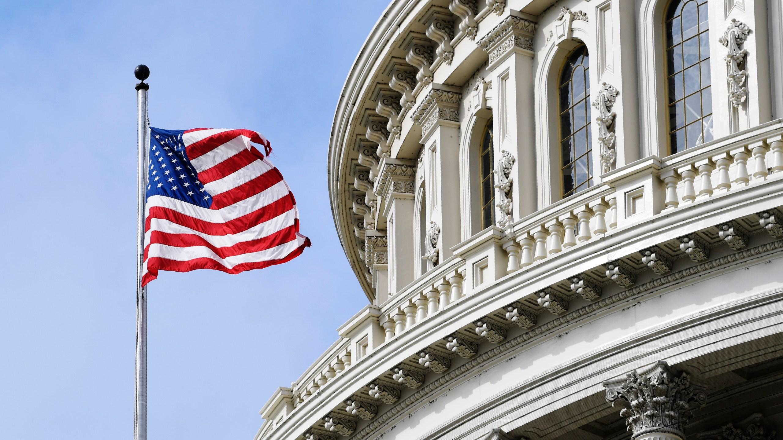 Capitol Hill flag