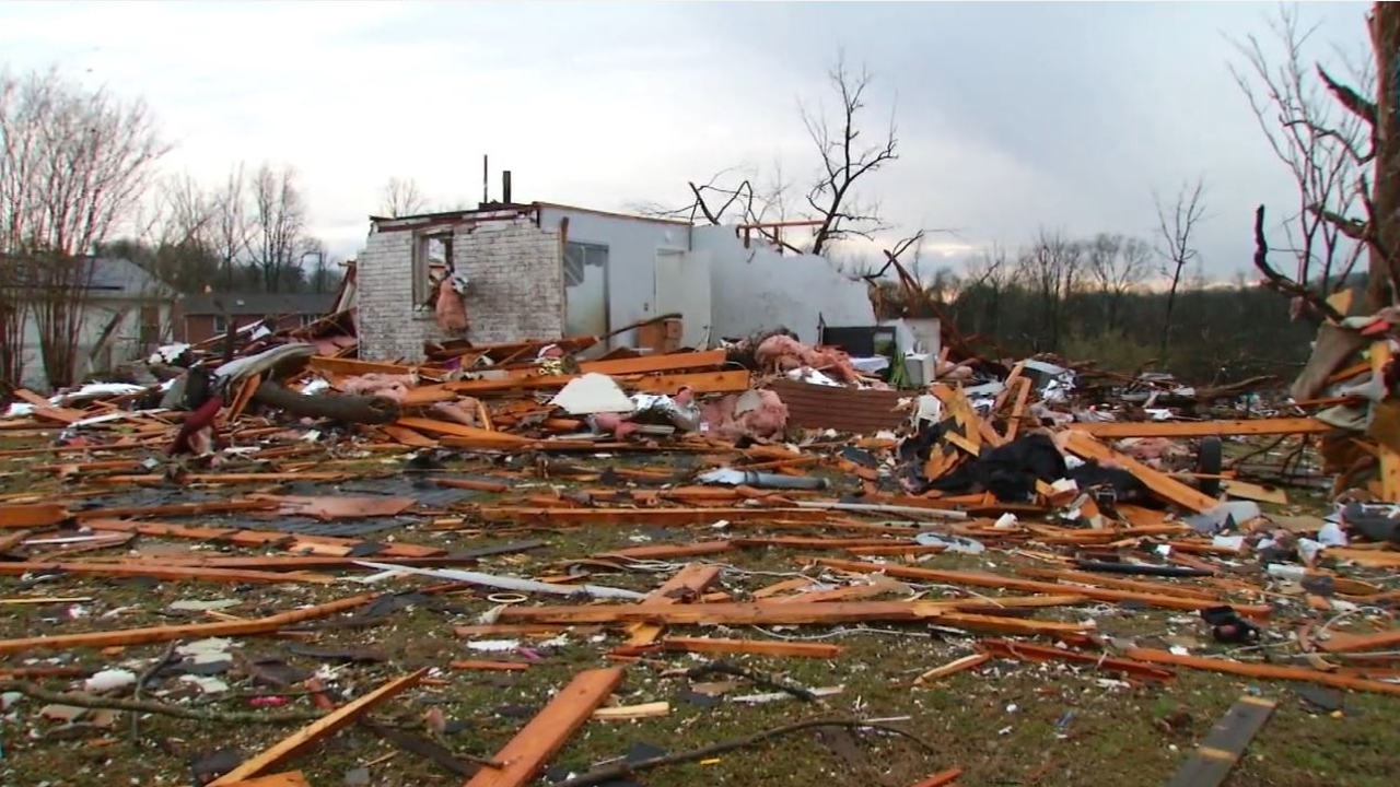 Interactive Map 2020 Nashville Tornado Outbreak Damage