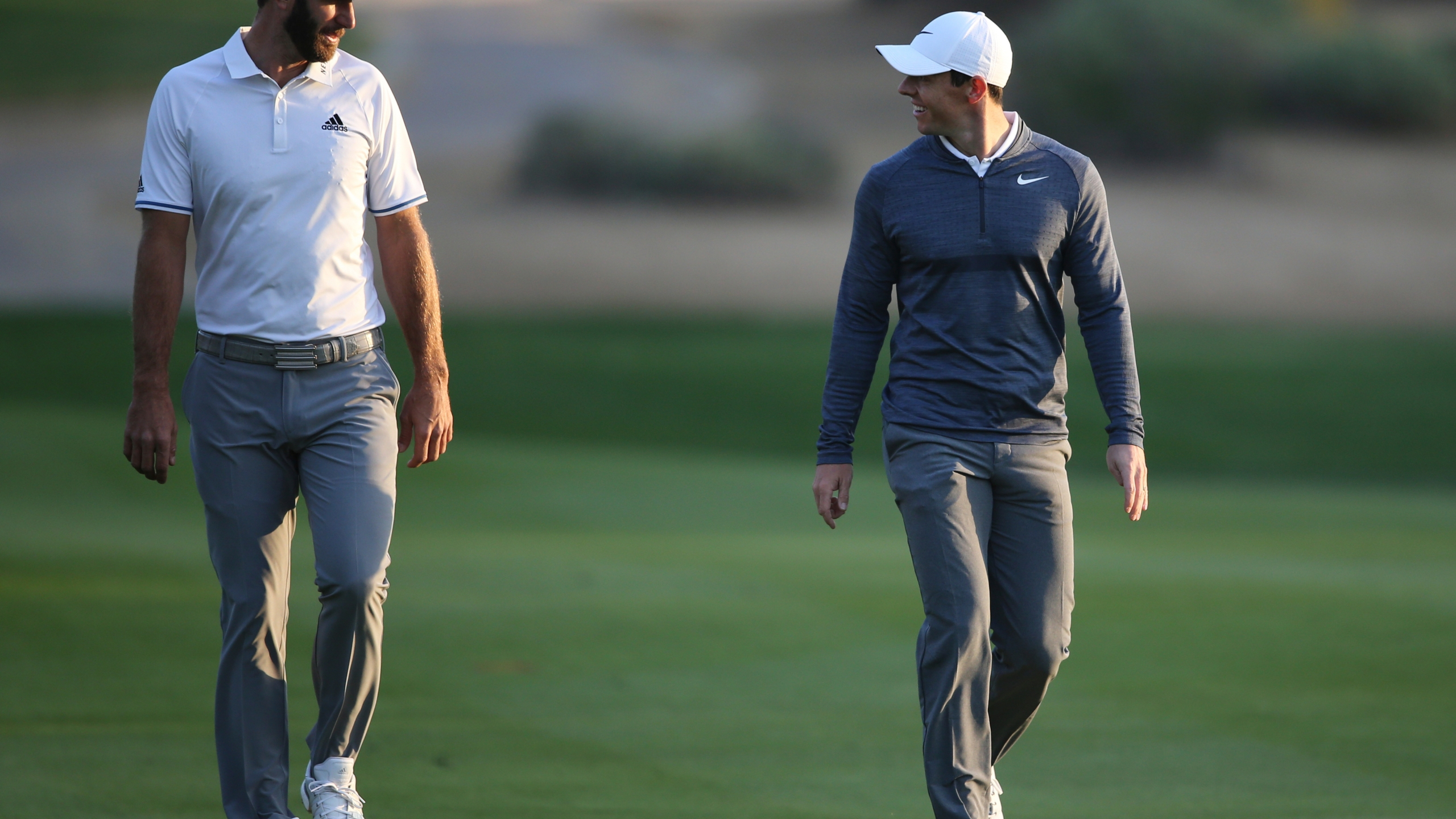 Dustin Johnson, Rory McIlroy