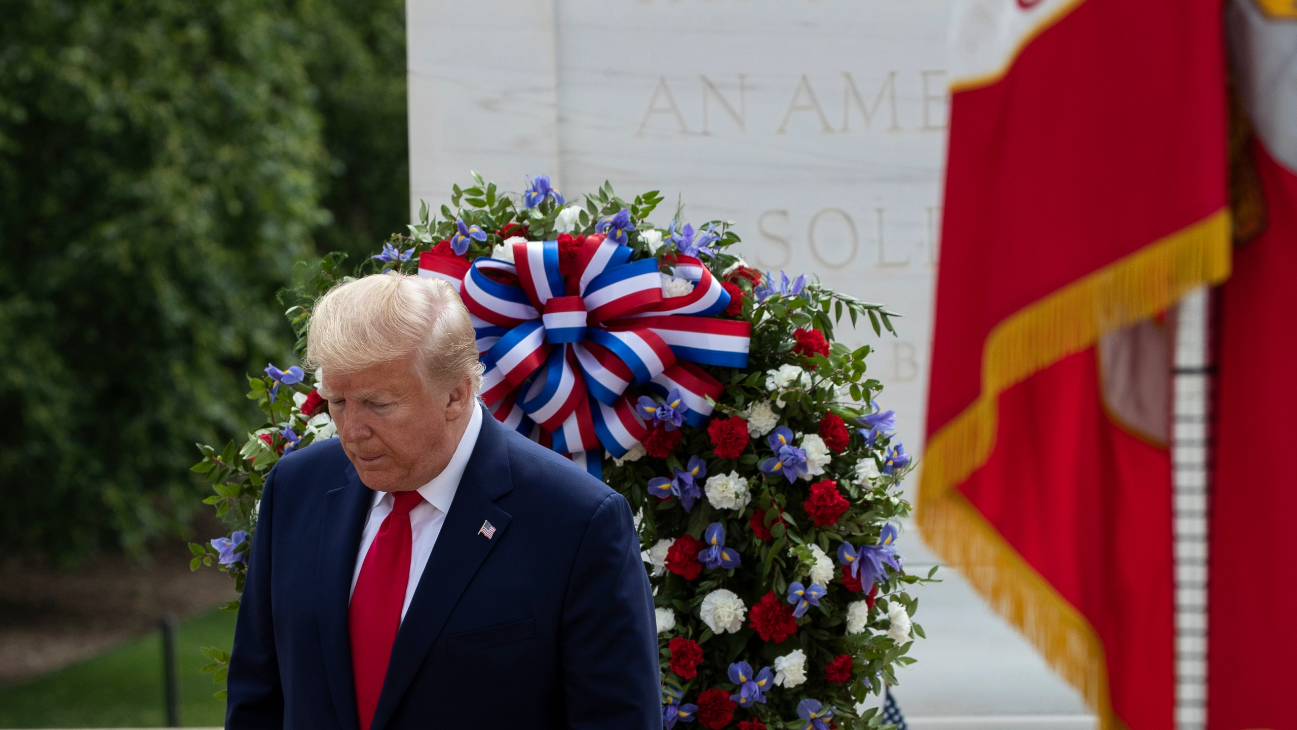 Tri Cities Tn Christmas Eve Events 2020 Trump honors fallen soldiers on Memorial Day in twin events | WJHL