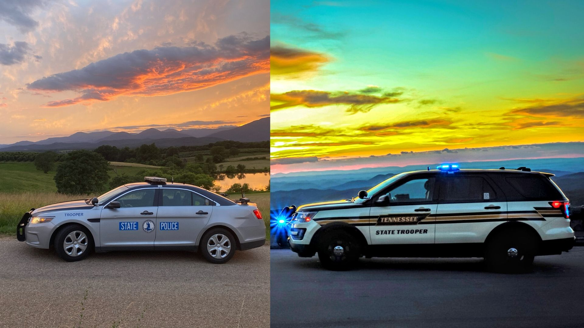 Tennessee Highway Patrol Virginia State Police Compete For Best Looking Cruiser Award Wjhl Tri Cities News Weather