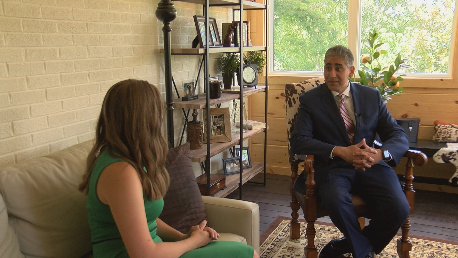 Full Interview U S Senate Candidate Dr Manny Sethi On Covid 19 Response Upcoming Election Wjhl Tri Cities News Weather