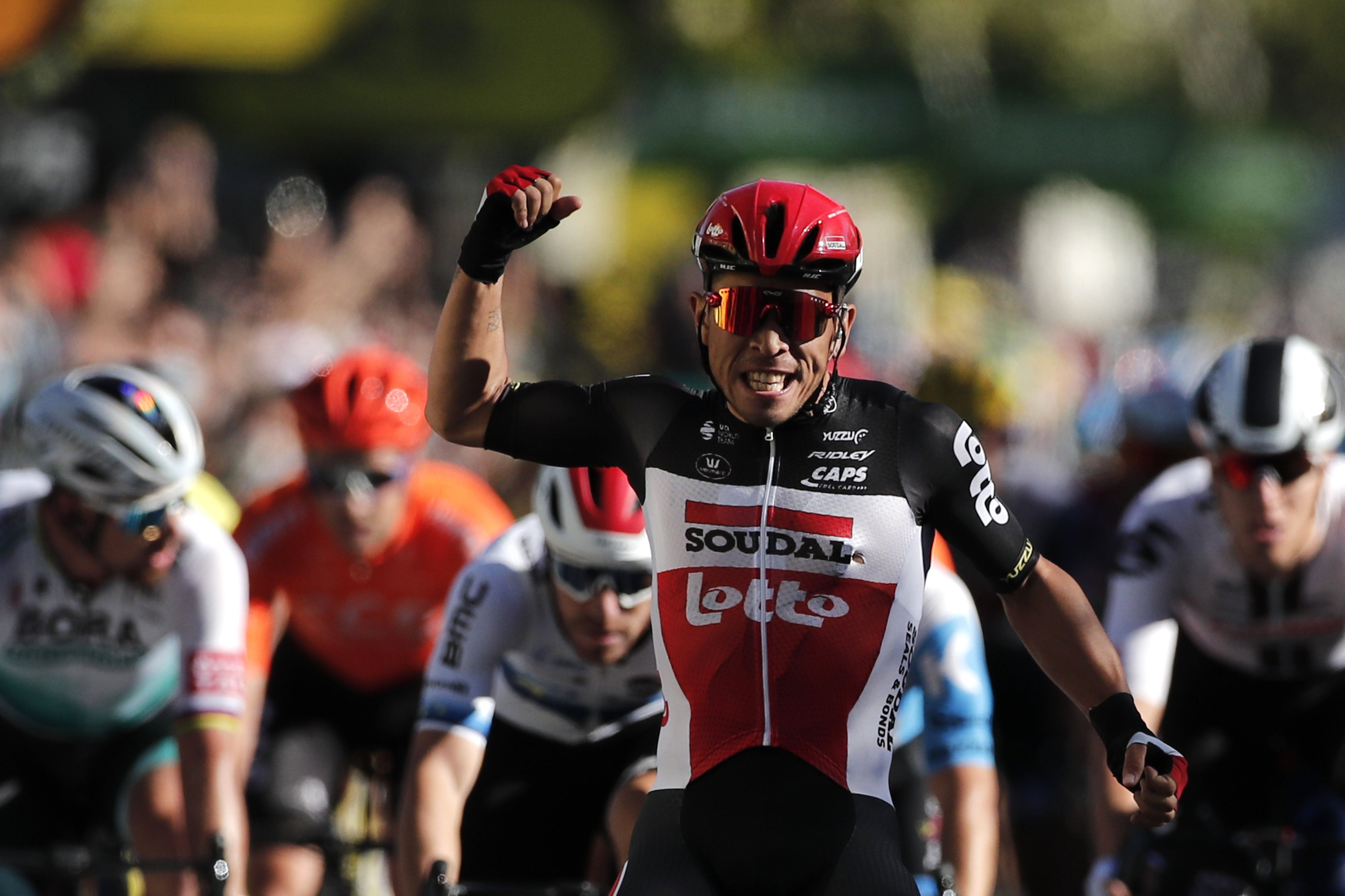 Ewan Slaloms To Sprint Win Alaphilippe Leads Tour De France Wjhl Tri Cities News Weather