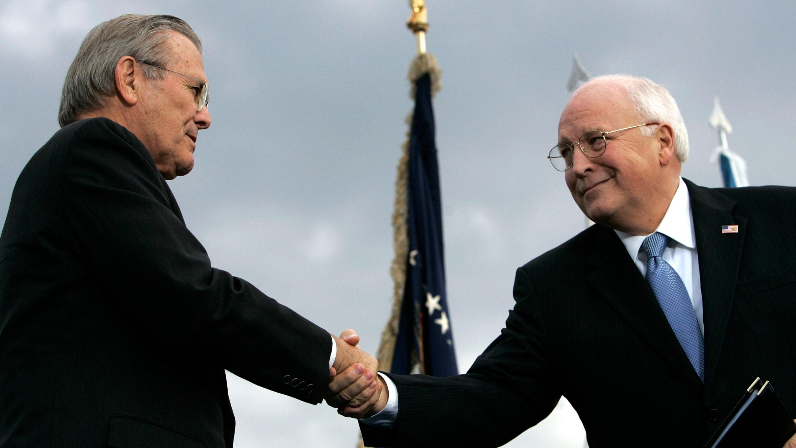 Donald H. Rumsfeld, Dick Cheney
