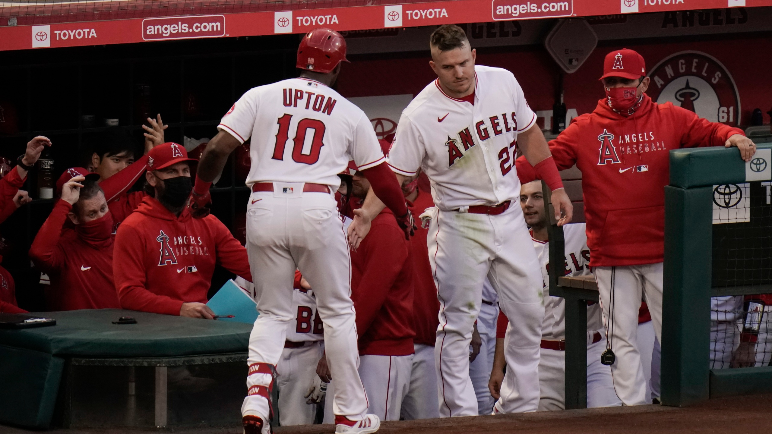 Justin Upton, Mike Trout