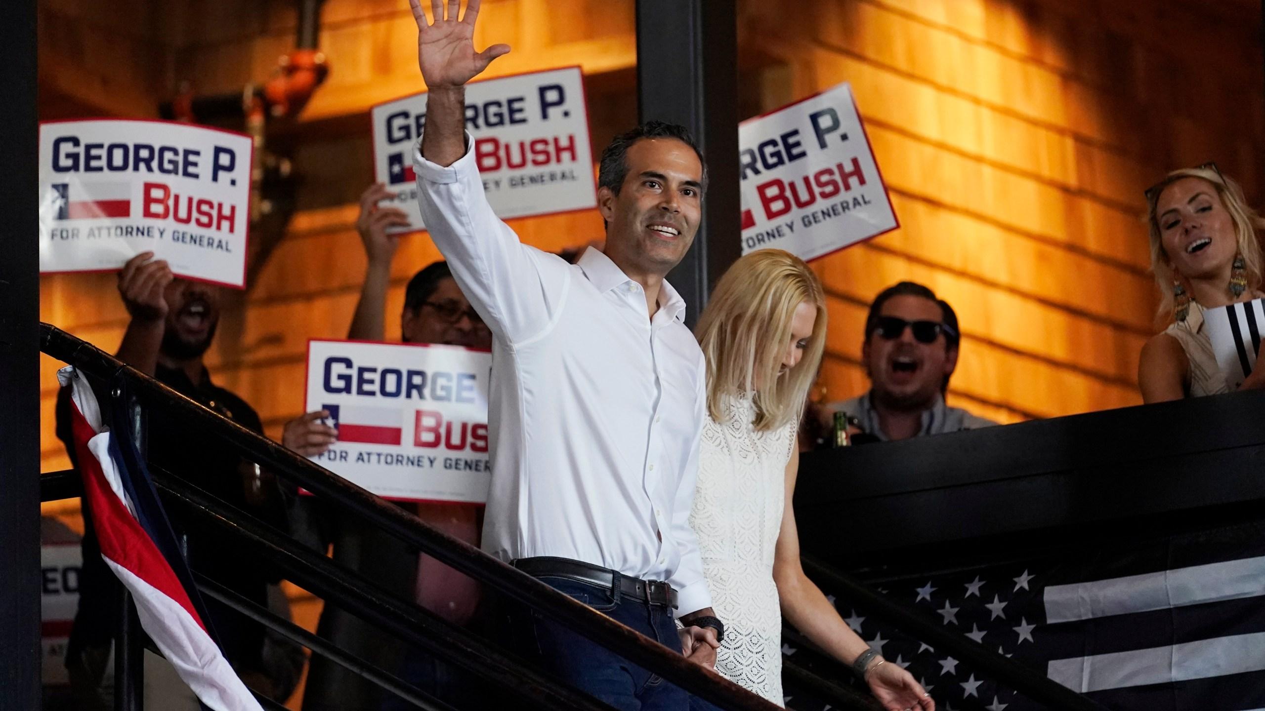 Goerge P. Bush, Amanda Bush